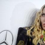 Madonna jópofának képzelte magát, de mintha nem volna az - fotó