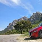 Ha kell lenyugtat, ha kell felpörget – vezettük az új Mazda CX-5-öt