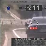 211 km/h-val biztosan tud menni ez az Audi, amit Zamárdinál fotóztak