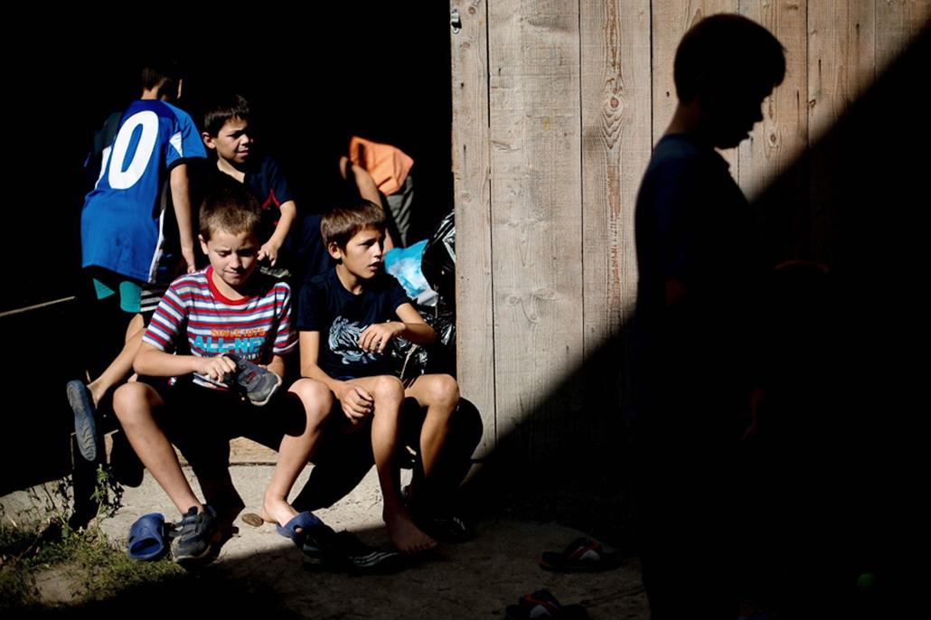 kisgyerekek, hét képei