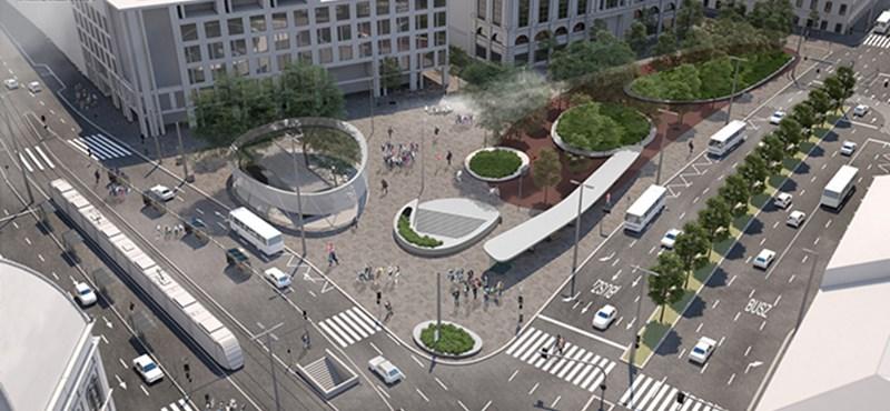 A vártnál nagyobb felfordulással jár majd a Blaha Lujza tér felújítása