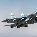 A Földközi-tengerbe zuhant egy orosz harci gép a szíriai bevetés után