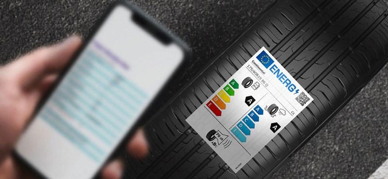 Új gumiabroncs energiacímkék segítik a vásárlást