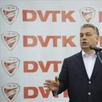 Orbán átadott egy újabb edzőközpontot
