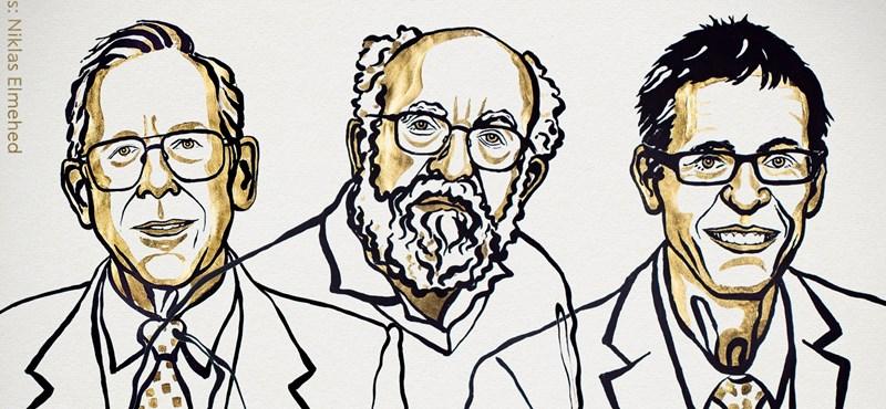 Az univerzum evolúcióját kutató tudósoké a fizikai Nobel-díj