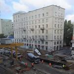 Csőtörés okozott óriási káoszt Varsó belvárosában