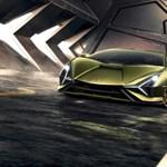 Egymilliárd forintba kerül és 819 lóerős a Lamborghini első hibridje