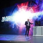Itt az Intel 28 magos processzora, ami brutális erőt telepít az asztali gépekbe