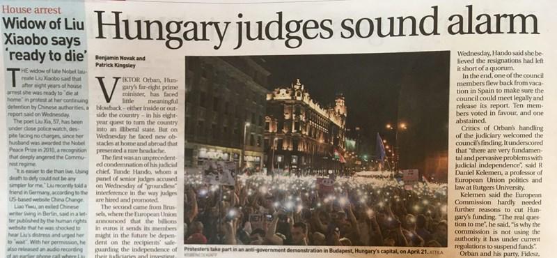 Már Kambodzsában is téma Orbán, Handó és a magyar igazságszolgáltatás