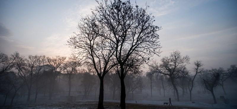 Jön még egy ködös nap, de jövő héten 14 fok is lehet már