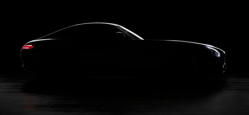 Megvillantotta a Mercedes az AMG GT-t