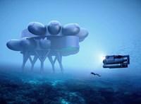 Bámulatos víz alatti laboratóriumot építene Jacques Cousteau unokája