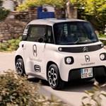 8, azaz nyolc lóerős a Citroën új városi villanyautója