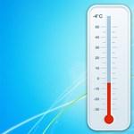 Retró hőmérő a Windows asztalára