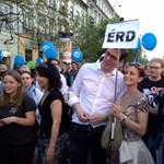 """Karácsony: """"A tüntetők már elhitték, hogy a Jobbik a demokratikus oldalon van"""""""
