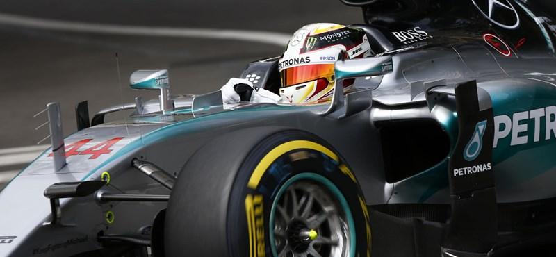 Hamilton behúzta a Belga Nagydíjat is