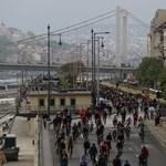 Kiderült, mit kezdenének a biciklisekkel a főpolgármester-jelöltek