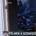 Gyújtogatós szomszédtól rettegnek egy szombathelyi panelház lakói