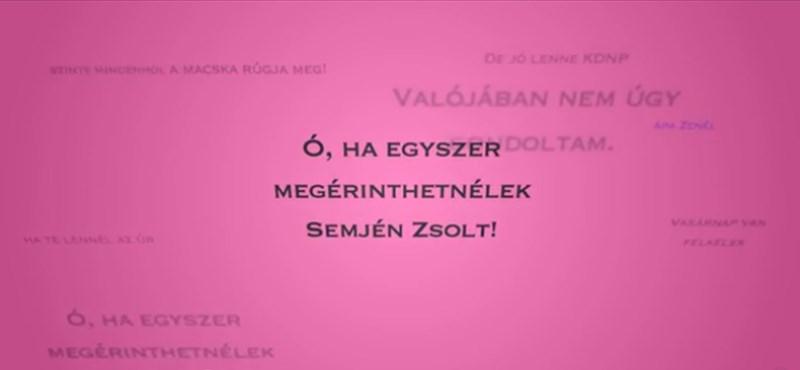"""""""Ó, ha megérinthetnélek, Semjén Zsolt"""" – az új KDNP-dalt fogja dúdolgatni egész nap"""