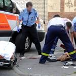 Nyakon szúrtak egy férfit Budapesten