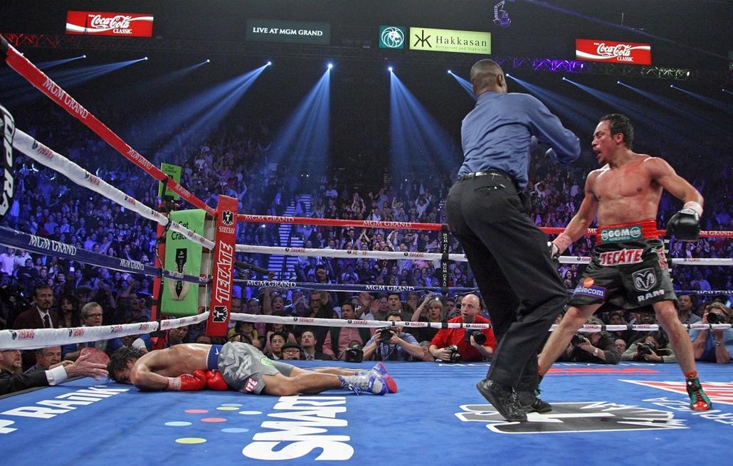 2012. december 8. - Las Vegas: a profi boksz kiemelkedő egyéniségeinek összecsapása az MGM Grand Garden Arénában: negyedik alkalommal csapott össze egymással a legendás páros, Juan Manuel Márquez és Manny Pacquiao  - évsportképei