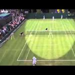 Videó: egy játékos úgy földhöz vágta teniszütőjét, mint még senki