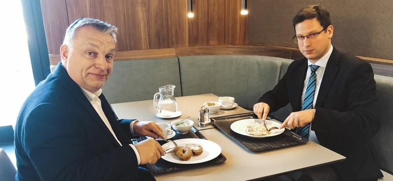 """""""Egy O1G-menüt rendelnék"""" – ostromolják az Orbán menzáját üzemeltető Gundelt"""