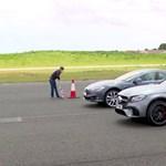 Mercedes-AMG vs Tesla Model S – kitalálja, melyik győzött a gyorsulási versenyen? – videó