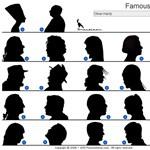 Trükkös teszt vasárnap estére: felismeritek a híres sziluetteket?