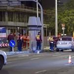 Halálra gázoltak egy embert késő este Budapesten - fotók