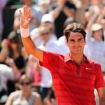 Roland Garros - Federer és Fognini a nyolc között, Zvonarjova kiesett