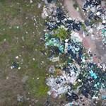 530 tonna illegálisan lerakott szemetet gyűjtött össze a Magyar Közút