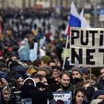 Putyin nem veheti el az internetet - így demonstrált több ezer orosz az online szabadság védelmében