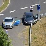 Autós üldözés volt az M7-esen - fotó