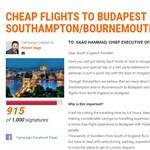 Angliai magyar írt petíciót egy légitársaságnak, hogy legyen pesti járat