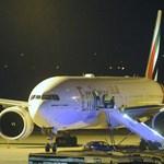 Megszakította Budapesten az útját egy Emirates-járat - fotó