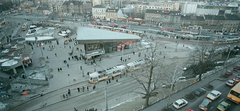 3 milliárd forintból újul meg a Széll Kálmán tér
