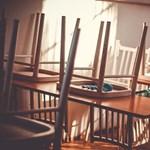 Rendkívüli tanítási szünetet rendeltek el az átázott falú egri iskolában