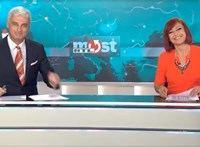 Tankcsapdát ad elő az RTL híradósa