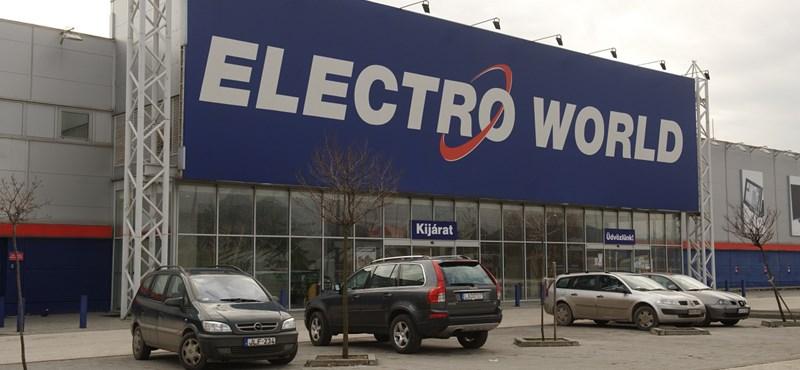 Újabb Electro World dőlt be