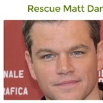 Pénzt gyűjtenek Matt Damon kiszabadítására