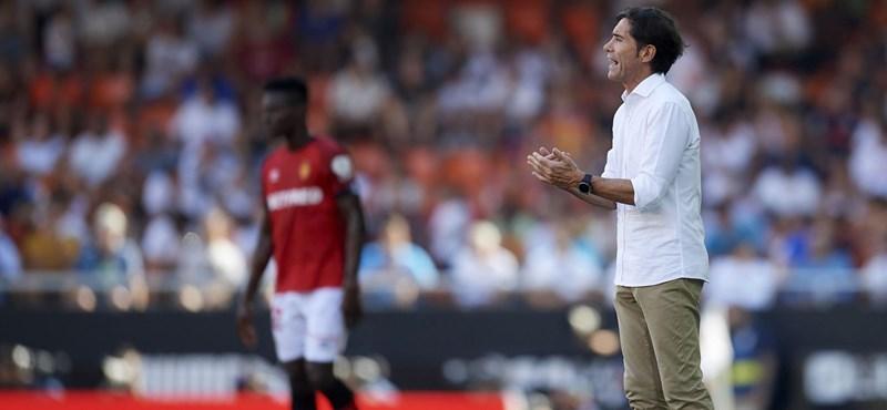 Kirúgták a Valencia edzőjét