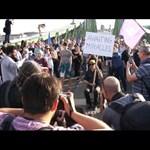 """""""A kereszténység nevében segítik Putyint, hogy megosszák Európát?"""" – videó az újabb tüntetésről"""
