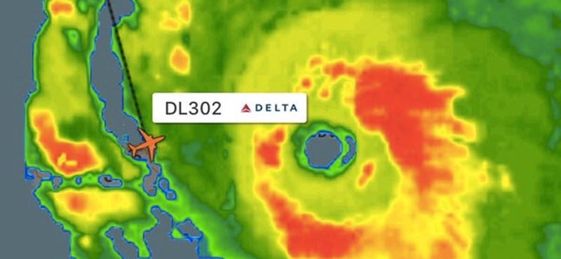 Épp letette a repülőt a pilóta a hurrikán előtt – és akkor elkezdtek beszállni a visszafele utasok