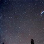Szombaton érkezik a hullócsillagok hada