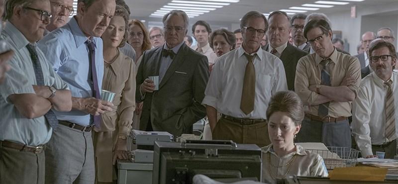 Videó: Így készült Tom Hanks, Meryl Streep és Spielberg közös filmje