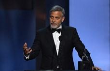 Férfias gesztust tett George Clooney a felesége felé: Amal férjeként mutatkozott be