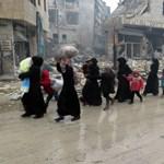 Közel egymillióan váltak hontalanná idén Szíriában