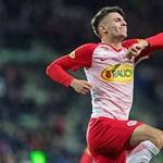 Kokárdás '48-as cipőben lőtte első gólját az osztrák ligában Szoboszlai