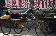 Mintha megtorpant volna a kínai gazdasági csoda